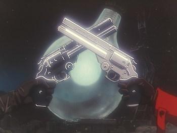 Кадр 3 аниме Триган