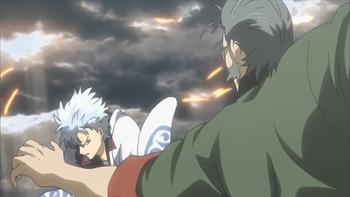 Кадр 1 аниме Гинтама: Сказание о Бэнидзакуре — Дополнение