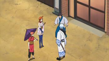 Кадр 3 аниме Гинтама: Лучшее из «Гинтамы» на Theater 2D