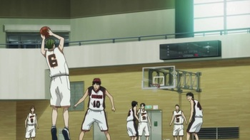 Кадр 2 аниме Баскетбол Куроко