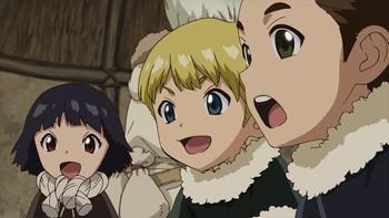 Кадр 1 аниме Доктор Стоун: Каменные войны