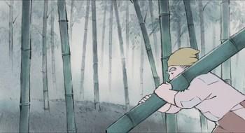 Кадр 1 аниме Сказание о принцессе Кагуя
