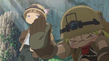Кадр 2 аниме Созданный в Бездне