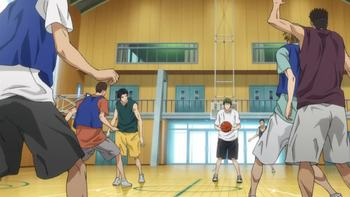 Кадр 2 аниме Баскетбол Куроко 2