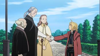 Кадр 3 аниме Стальной алхимик: Братство — Спецвыпуски
