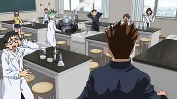 Кадр 2 аниме Доктор Стоун