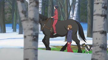 Кадр 1 аниме Серебряная ложка