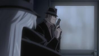Кадр 3 аниме Детектив Конан: Охота на ворона