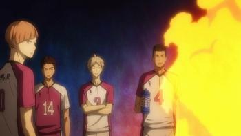 Кадр 2 аниме Волейбол!! 3