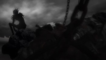 Кадр 1 аниме Тетрадь смерти