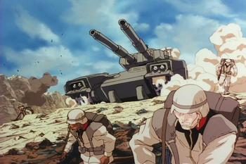 Кадр 0 аниме Мобильный воин Гандам: Восьмой взвод МС