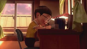 Кадр 3 аниме Останься со мной, Дораэмон!