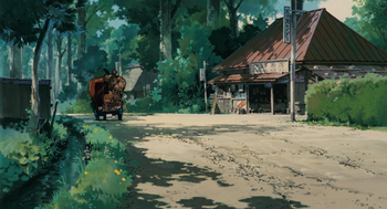 Кадр 2 аниме Мой сосед Тоторо