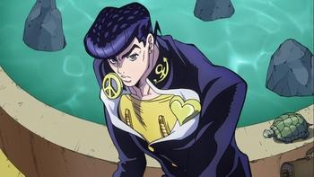 Кадр 3 аниме Невероятное приключение ДжоДжо: Несокрушимый алмаз