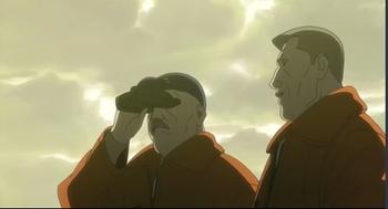 Кадр 2 аниме Призрак в доспехах: Синдром одиночки 2 — Одиннадцать индивидуалистов