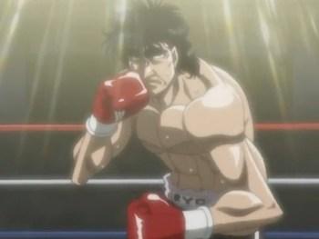 Кадр 1 аниме Первый шаг: Машиба против Кимуры