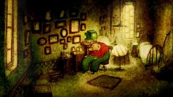Кадр 1 аниме Дом из маленьких кубиков