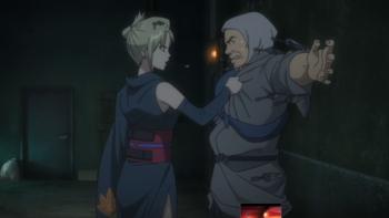 Кадр 3 аниме Гинтама 4: Любовные благовония