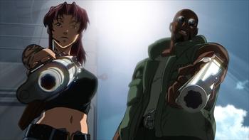 Кадр 3 аниме Пираты «Чёрной лагуны»