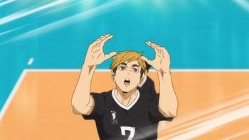 Кадр 3 аниме Волейбол!! К вершине 2