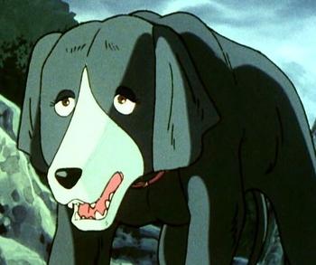 Кадр 1 аниме Легенда о Серебряном Клыке: Падающая звезда Гин