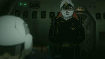 Кадр 2 аниме Космический линкор Ямато 2199