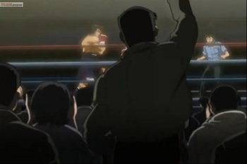 Кадр 2 аниме Первый шаг: Путь чемпиона
