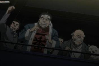 Кадр 3 аниме Первый шаг: Путь чемпиона