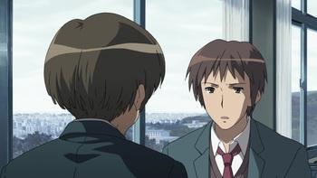 Кадр 2 аниме Исчезновение Харухи Судзумии