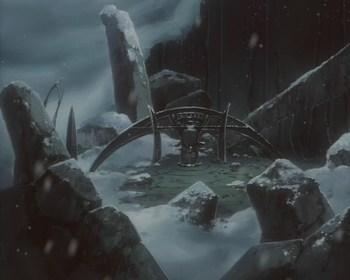 Кадр 3 аниме Волчий дождь: Финал
