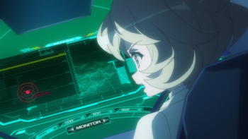 Кадр 3 аниме Песня боевых принцесс: Мехасимфония 5