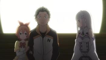 Кадр 3 аниме Re:Zero. Жизнь с нуля в альтернативном мире 2