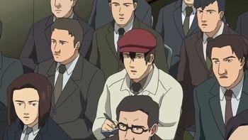 Кадр 3 аниме Призрак в доспехах: Синдром одиночки — Смеющийся человек