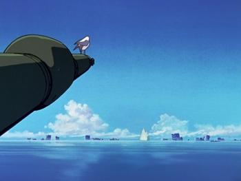 Кадр 2 аниме Евангелион нового поколения