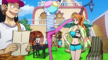 Кадр 3 аниме Ван-Пис: Бегство