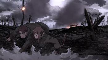 Кадр 1 аниме Военная хроника маленькой девочки