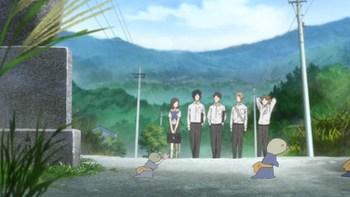 Кадр 3 аниме Тетрадь дружбы Нацумэ 5