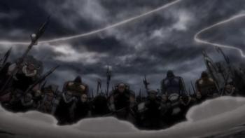 Кадр 3 аниме Гинтама: Рождение Белого Демона