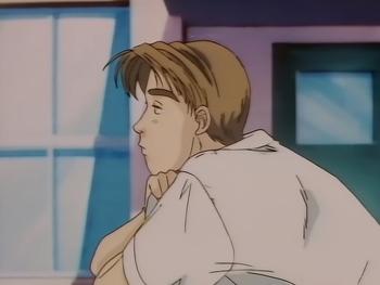 Кадр 1 аниме Инициал Ди: Стадия первая