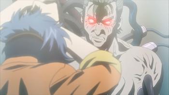 Кадр 3 аниме Гинтама: Сказание о Бэнидзакуре — Дополнение
