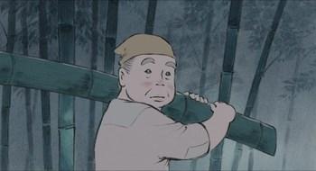 Кадр 2 аниме Сказание о принцессе Кагуя