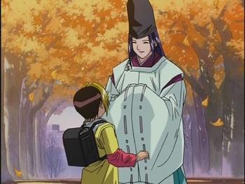 Кадр 1 аниме Хикару и Го