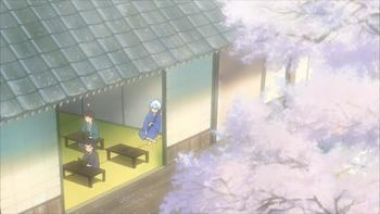 Кадр 1 аниме Гинтама: Сказание о Бэнидзакуре