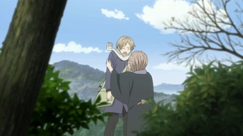 Кадр 3 аниме Тетрадь дружбы Нацумэ 4