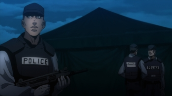 Кадр 2 аниме Хеллсинг OVA