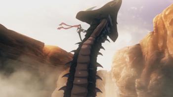 Кадр 2 аниме Аватар короля: Специальные выпуски