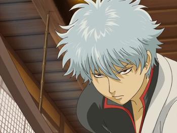 Кадр 3 аниме Гинтама: Джамп Феста 2005