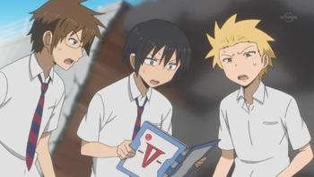 Кадр 3 аниме Повседневная жизнь старшеклассников