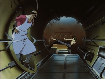 Кадр 3 аниме Ковбой Бибоп