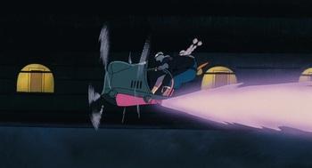 Кадр 3 аниме Небесный замок Лапута